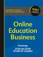 Online Education Business: Step-by-Step Startup Guide