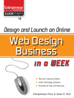 Design and Launch an Online Web Design Business in a Week
