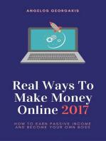 Real Ways to Make Money Online 2017