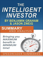 The Intelligent Investor by Benjamin Graham and Jason Zweig