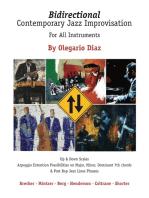 Bidirectional Contemporary Jazz Improvisation for All Instruments