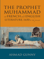 Prophet Muhammad in French and English Literature: 1650 to the Present