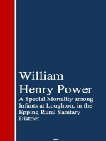 A Special Mortality among Infants at Loughton, ining Rural Sanitary District