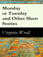 Monday or Tuesday and Other Short Stories