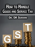 How to Handle Goods and Service Tax (GST)