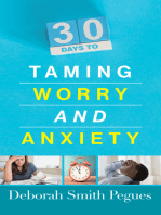 30 Days to Taming Worry and Anxiety