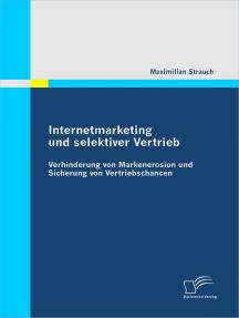 Internetmarketing und selektiver Vertrieb: Verhinderung von Markenerosion und Sicherung von Vertriebschancen