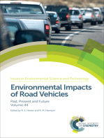 Environmental Impacts of Road Vehicles: Past, Present and Future