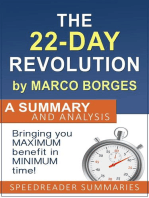 The 22 Day Revolution by Marco Borges
