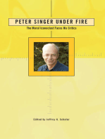 Peter Singer Under Fire: The Moral Iconoclast Faces His Critics