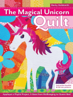 The Magical Unicorn Quilt