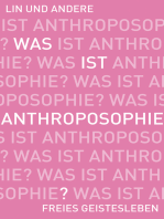 Was ist Anthroposophie?