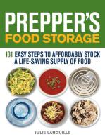 Prepper's Food Storage