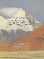 The Fight for Everest 1924: Mallory, Irvine and the quest for Everest