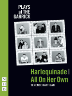 Harlequinade & All On Her Own (NHB Modern Plays)