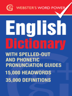 Webster's Word Power English Dictionary: With IPA and easy to follow pronunciation