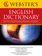 Webster's American English Dictionary (with pronunciation guides): With over 50,000 references (US English)
