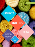 Ultimate Knitting Bible: A Complete Reference Guide with step-by-step techniques