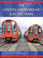 London Underground Electric Train