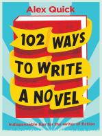 102 Ways to Write a Novel