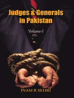 Judges and Generals of Pakistan Volume - I