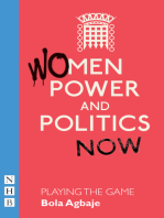 Playing the Game (NHB Modern Plays)