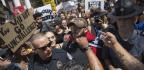 Protesters Surround KKK Gathering In Charlottesville