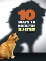 10 Ways to increase your self-esteem