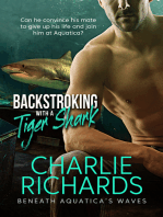 Backstroking with a Tiger Shark