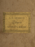 Letters to Catherine E. Beecher