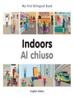 My First Bilingual Book–Indoors (English–Italian)