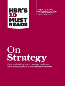 "HBR's 10 Must Reads on Strategy (including featured article ""What Is Strategy?"" by Michael E. Porter)"
