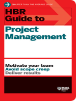 HBR Guide to Project Management (HBR Guide Series)
