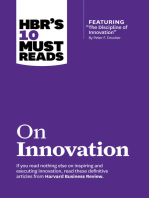 """HBR's 10 Must Reads on Innovation (with featured article """"The Discipline of Innovation,"""" by Peter F. Drucker)"""