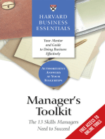 Manager's Toolkit