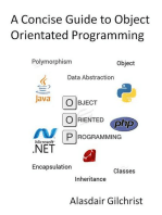 A Concise Guide to Object Orientated Programming