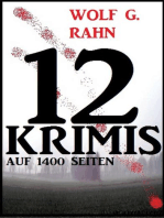 12 Wolf G. Rahn Krimis auf 1400 Seiten