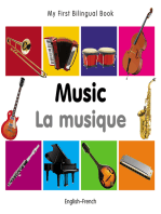 My First Bilingual Book–Music (English–French)