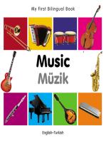 My First Bilingual Book–Music (English–Turkish)