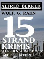 15 Strand-Krimis für den August 2017