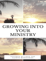 Growing into Your Ministry