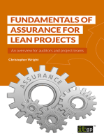 Fundamentals of Assurance for Lean Projects