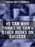 HE CAN WHO THINKS HE CAN & OTHER BOOKS ON SUCCESS