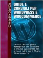 Guide e Consigli per Wordpress e WooCommerce