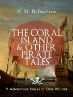 THE CORAL ISLAND & OTHER PIRATE TALES – 5 Adventure Books in One Volume