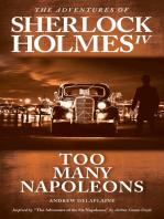 "Too Many Napoleons - Inspired by ""The Adventure of the Six Napoleons"" by Arthur Conan Doyle"