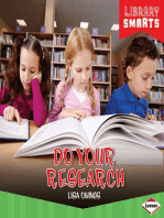 Do Your Research