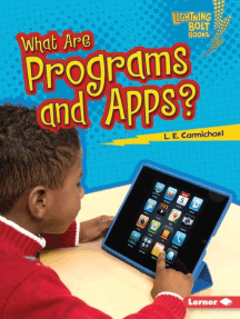 What Are Programs and Apps?