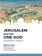 Jerusalem and the One God
