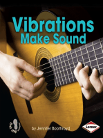 Vibrations Make Sound